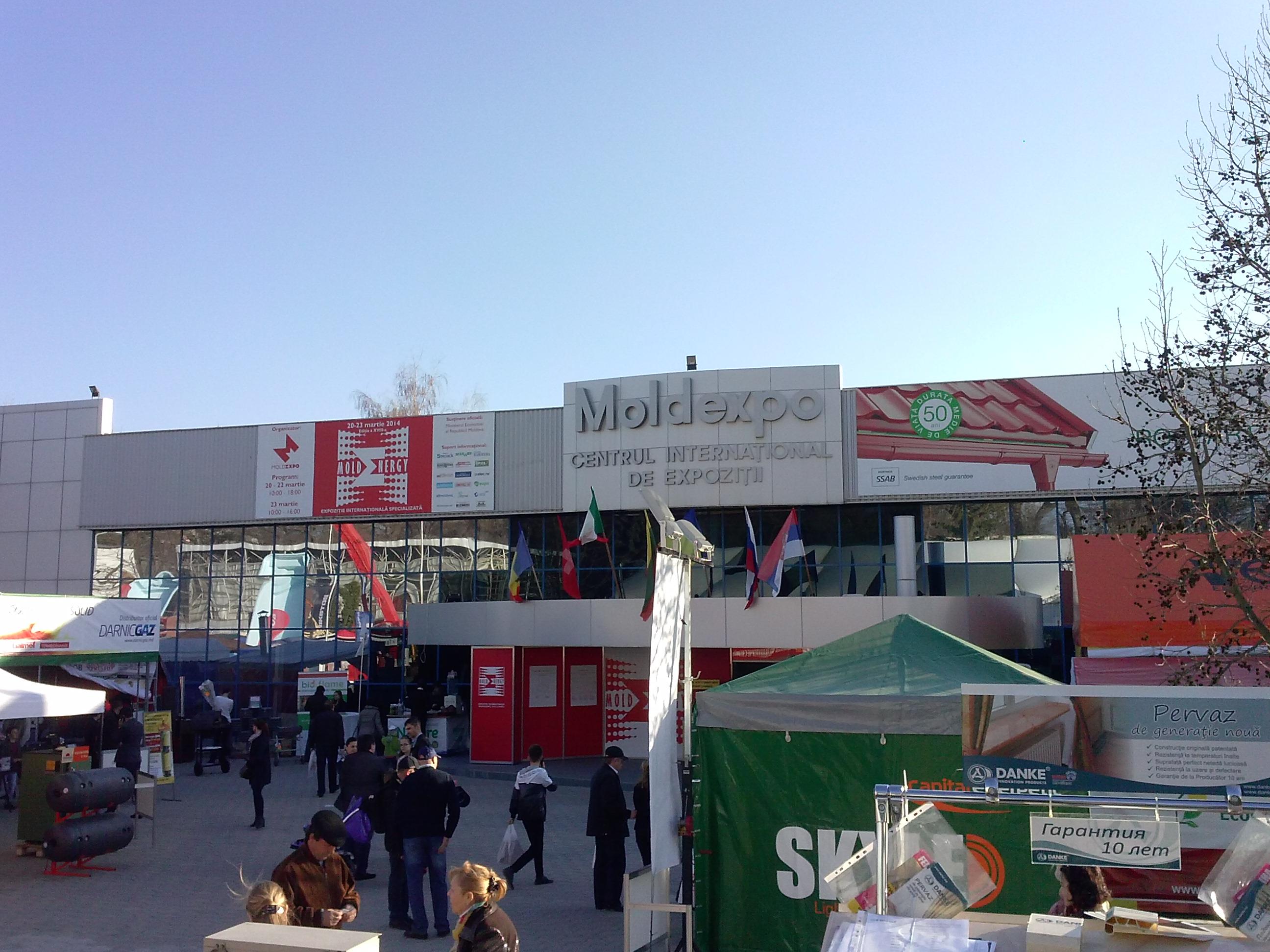 CHISINAU MOLDAVIA EXPO 2014.