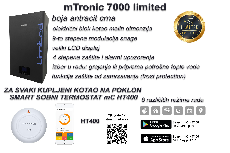 U prodaji mTronic 7000 limited + poklon smart sobni termostat mC HT400